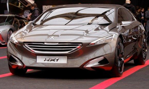 2011 Peugeot HX1 Concept Shows Sumptuous Detailing and ...