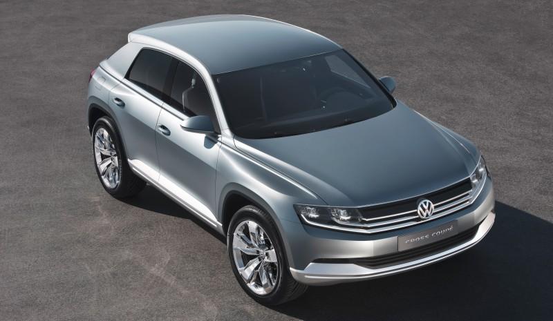 2011 Volkswagen Cross Coupe SUV Concept 23