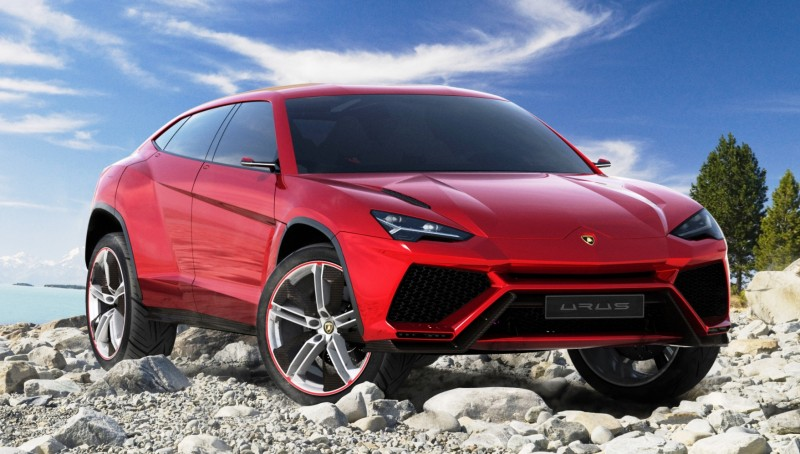 2012 Lamborghini Urus Concept 10