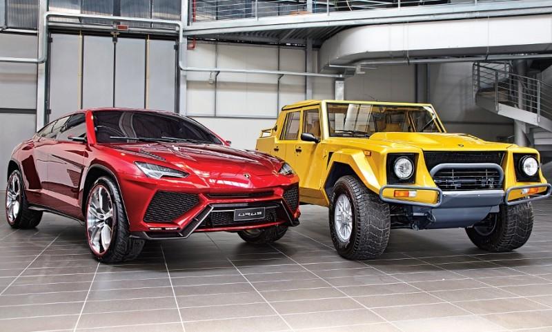 2012 Lamborghini Urus Concept 24