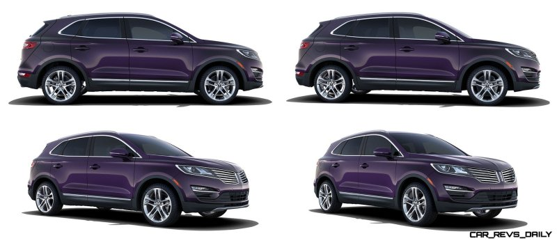 2015 Lincoln MKC Crossover - A Cool Mix of Infiniti and Audi100