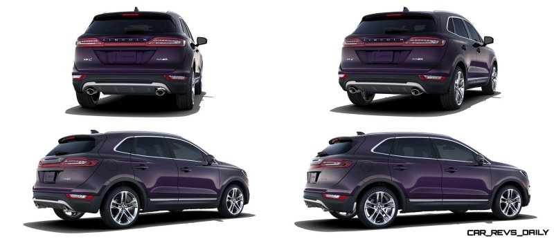 2015 Lincoln MKC Crossover - A Cool Mix of Infiniti and Audi97