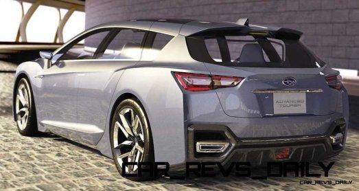 2015 Subaru Legacy Concept Directly Previews Next LGT1