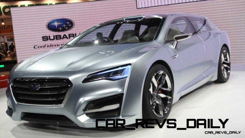 2015 Subaru Legacy Concept Directly Previews Next LGT11