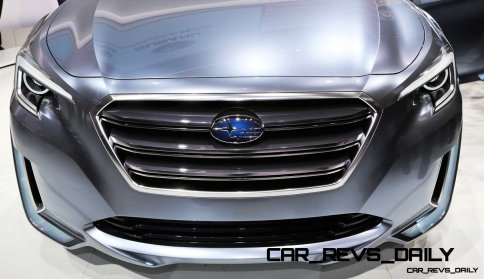 2015 Subaru Legacy Concept Directly Previews Next LGT2