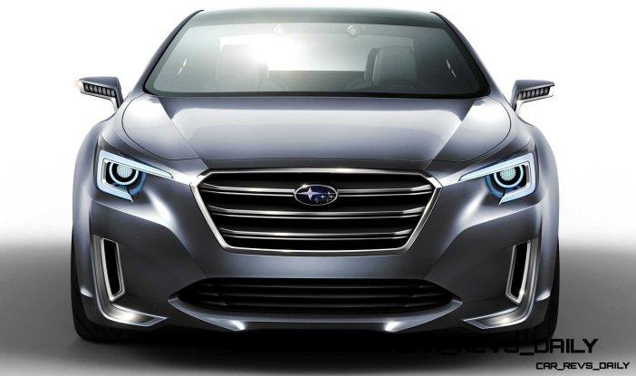 2015 Subaru Legacy Concept Directly Previews Next LGT4