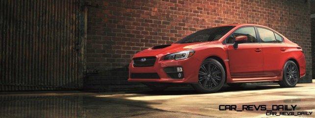 2015 Subaru WRX Nears 270 Horsepower, Looks Hot10