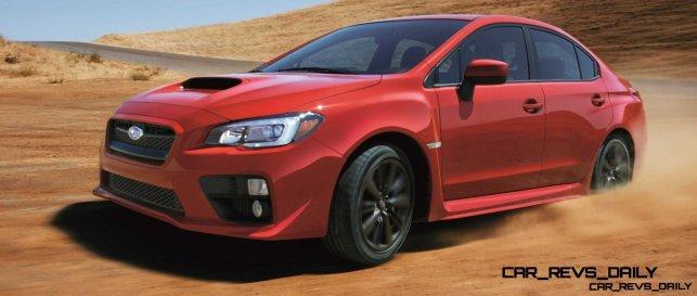 2015 Subaru WRX Nears 270 Horsepower, Looks Hot17