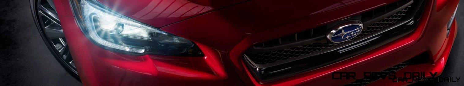 2015 Subaru WRX Nears 270 Horsepower, Looks Hot21