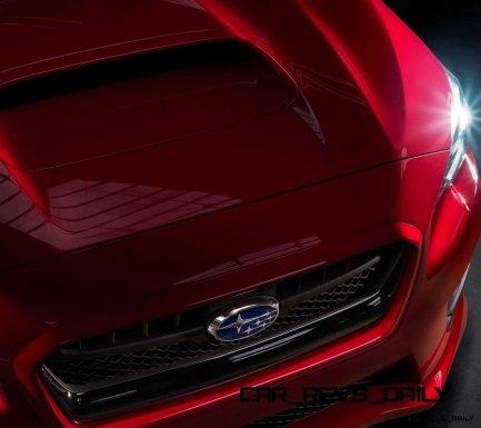 2015 Subaru WRX Nears 270 Horsepower, Looks Hot23