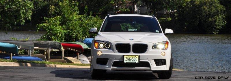 BMW X1 sDrive28i M Sport - Alpine White in 60 High-Res Photos33