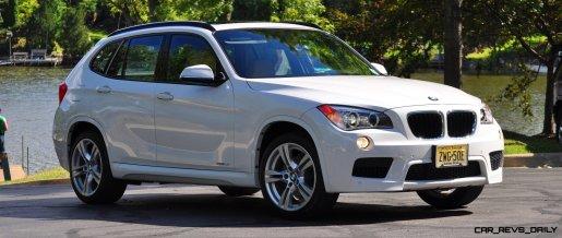 BMW X1 sDrive28i M Sport - Alpine White in 60 High-Res Photos36
