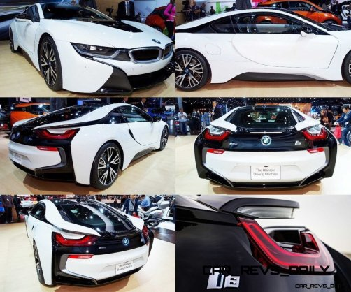 CarRevsDaily - BMW i8 CarRevsDaily - BMW i8 Tiled Collage