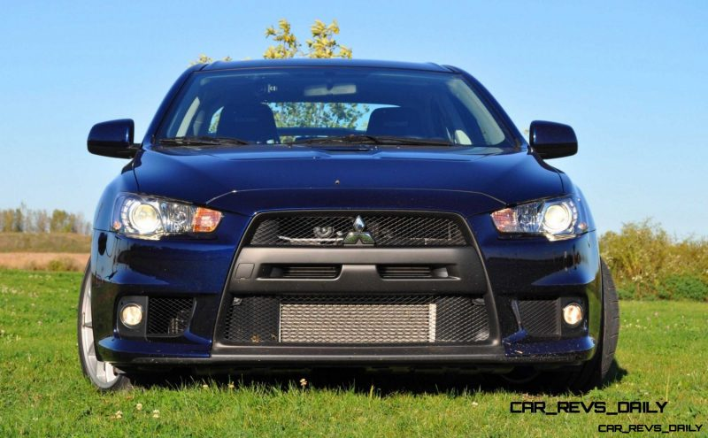 CarRevsDaily.com - 2014 Mitsubishi Lancer Evolution GSR1