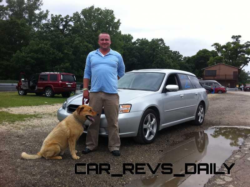 CarRevsDaily.com - TomBurkart - Blackhawk Farms Raceway with Drake my dog.jpg