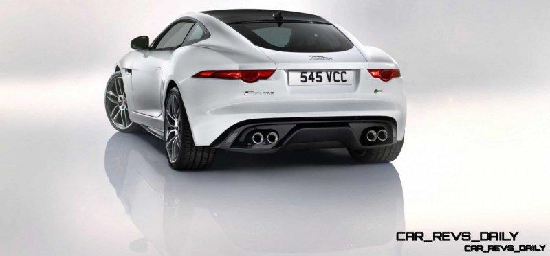 Jaguar Makes a WINNER!  2015 F-type R Coupe Debut33