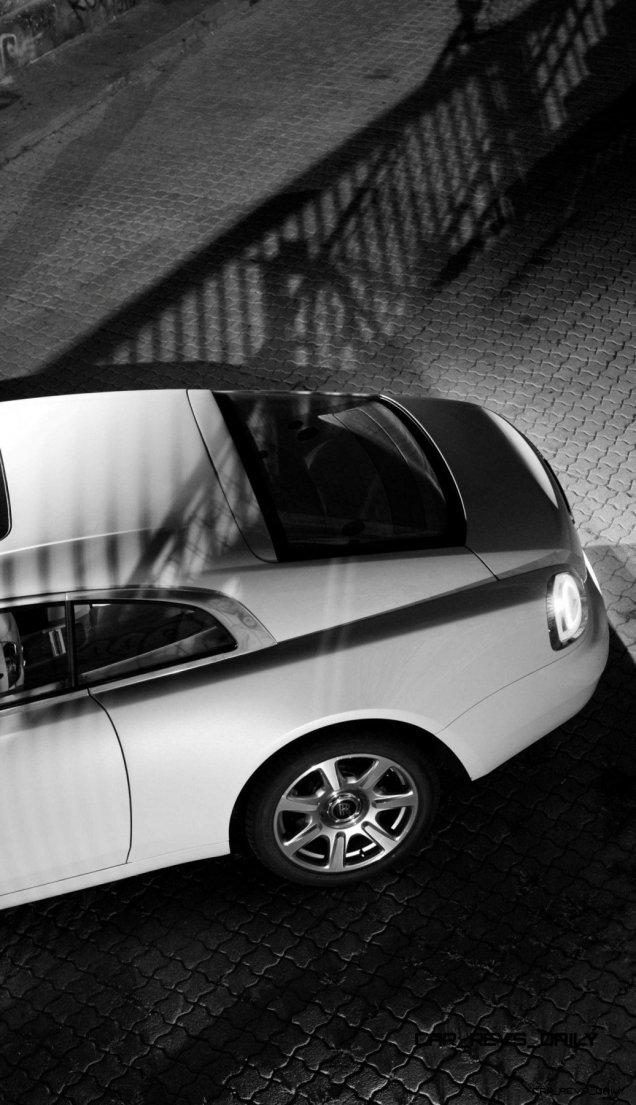 RR Wraith Carrara White Color Showcase CarRevsDaily19