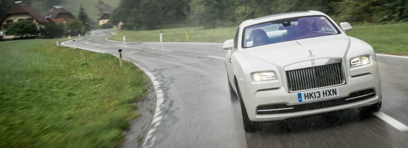 RR Wraith Carrara White Color Showcase CarRevsDaily61