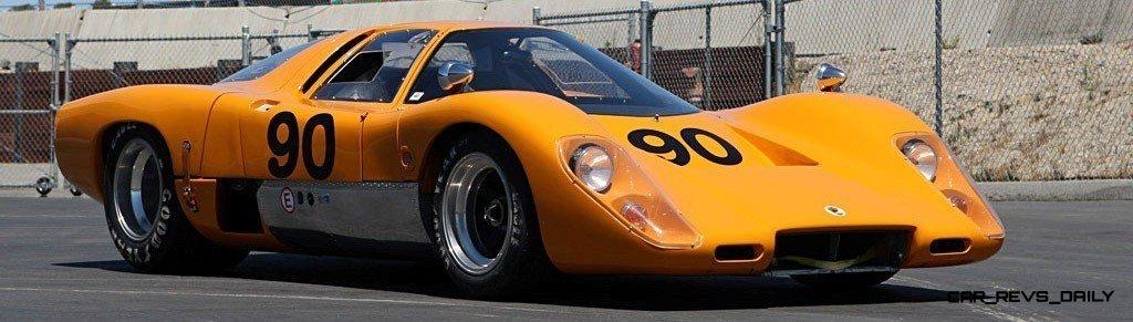 1969 McLaren M6GT - Specs vs F1 and P1 - Photo 22