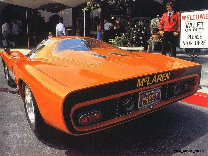 1969 McLaren M6GT - Specs vs F1 and P1 - Photo 65