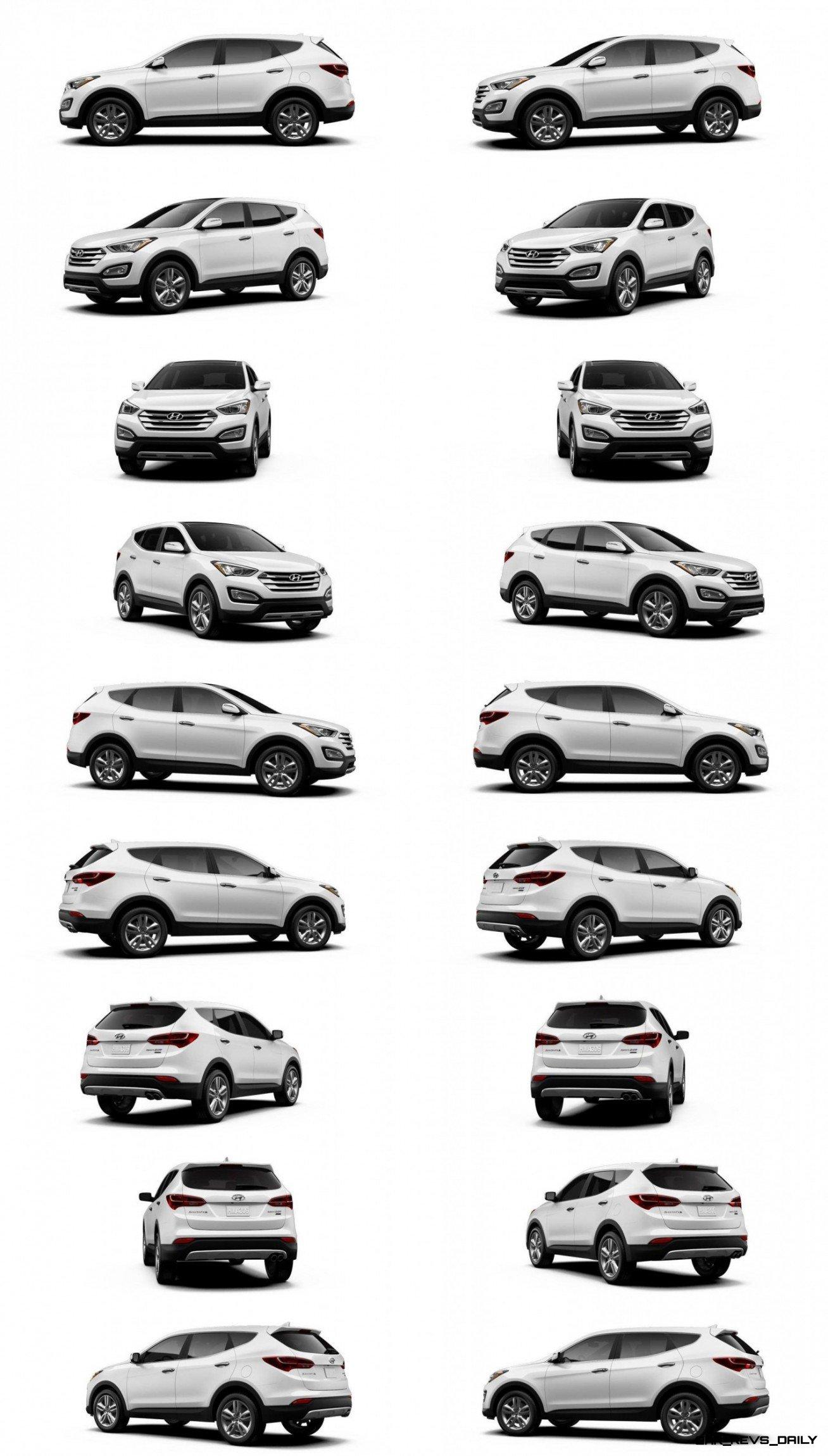 Hyundai Sante Fe Sport Vs Lwb