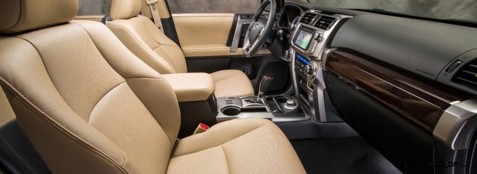 2014 4Runner Offers Third Row and Very Cool SR5 and Limited Styles 28