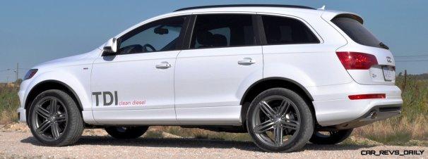 2014 Audi Q7 TDI S-line Plus - Carrara White 12