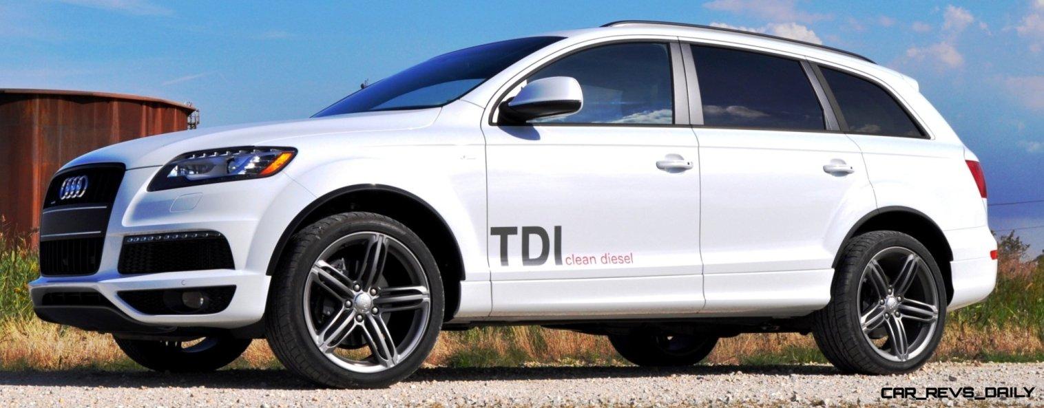 2014 Audi Q7 TDI S-line Plus - Carrara White 16