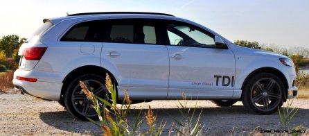 2014 Audi Q7 TDI S-line Plus - Carrara White 3