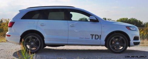 2014 Audi Q7 TDI S-line Plus - Carrara White 4