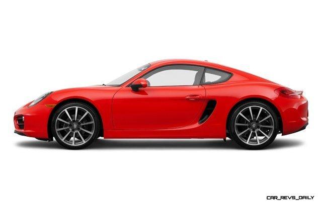 2014 Porsche Cayman COLORS 6
