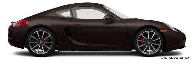 2014 Porsche Cayman S - COLORS 23