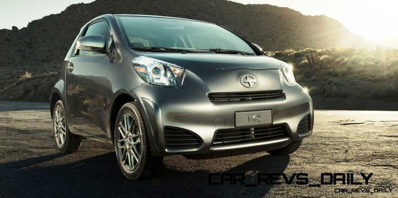 2014 Scion iQ Glams Up With Two-Tone EV and Monogram Editions 14