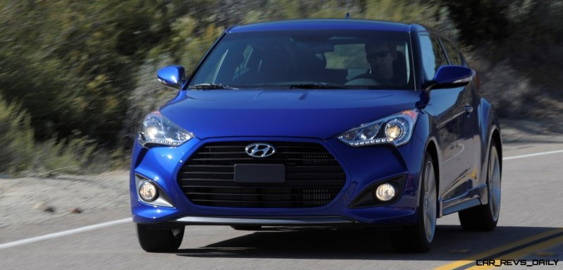 2014 Veloster R-Spec New for 2014 with Nurburgring Chassis Tech 20