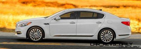 2015 K900 Kia New RWD Flagship 13