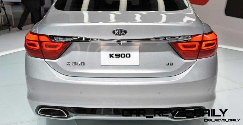 2015 K900 Kia New RWD Flagship 26