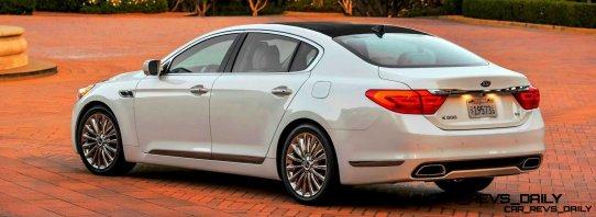2015 K900 Kia New RWD Flagship 8