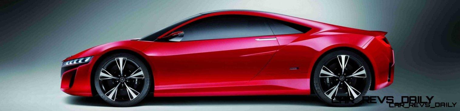 Beijing Motor Show Acura NSX Concept