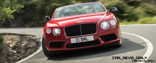 CarRevsDaily - 2014 Bentley Continental GTC V8 and V8 S 25
