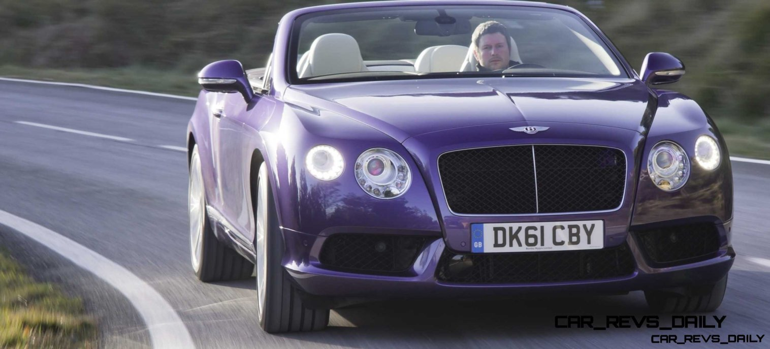 CarRevsDaily - 2014 Bentley Continental GTC V8 and V8 S 63