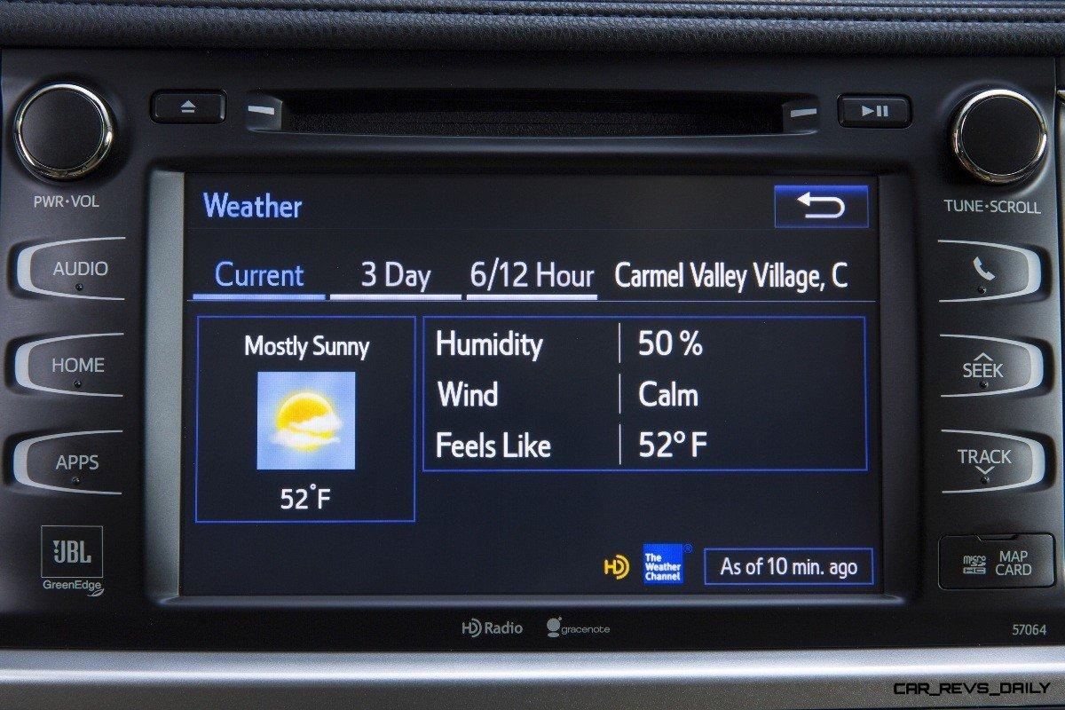 CarRevsDaily - 2014 Toyota Highlander Interior Photo34