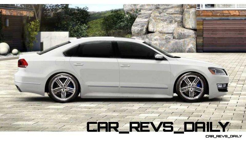 CarRevsDaily 2015 VW Passat R - Specilative Renderings 1