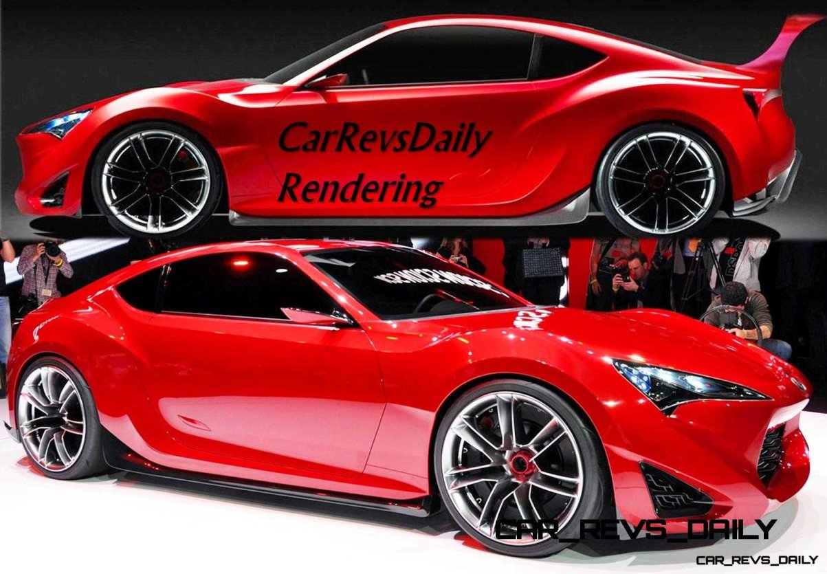 CarRevsDaily - SUPRA Rendering Preview