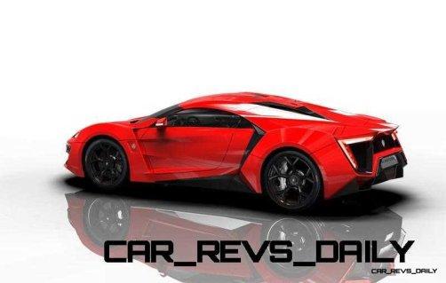 CarRevsDaily Supercars - 2014 W Motors Lykan Hypersport Colors 103