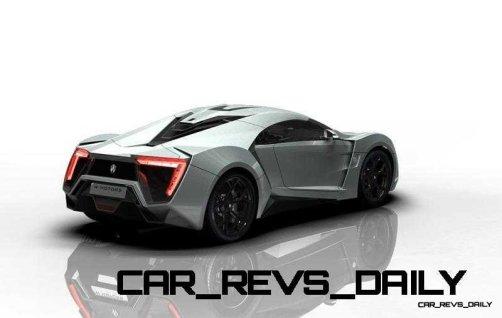 CarRevsDaily Supercars - 2014 W Motors Lykan Hypersport Colors 113