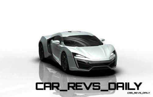 CarRevsDaily Supercars - 2014 W Motors Lykan Hypersport Colors 125