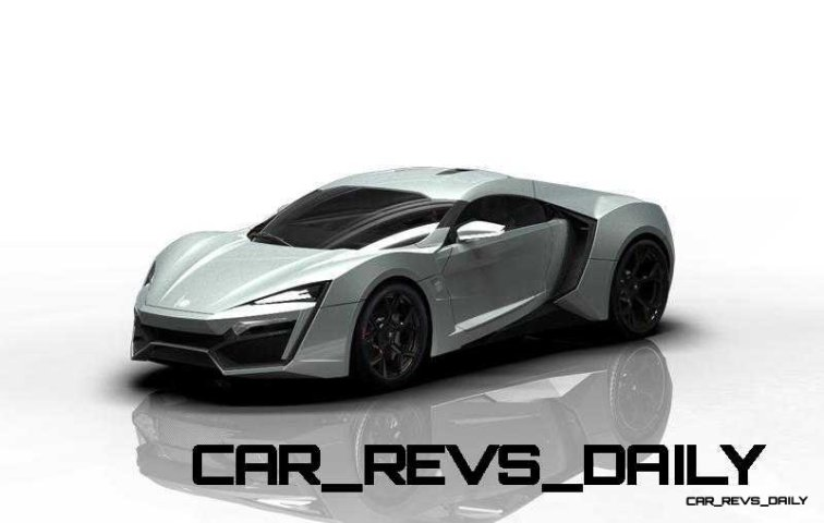 CarRevsDaily Supercars - 2014 W Motors Lykan Hypersport Colors 131