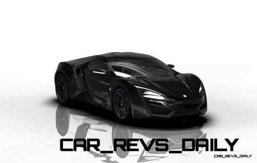CarRevsDaily Supercars - 2014 W Motors Lykan Hypersport Colors 16
