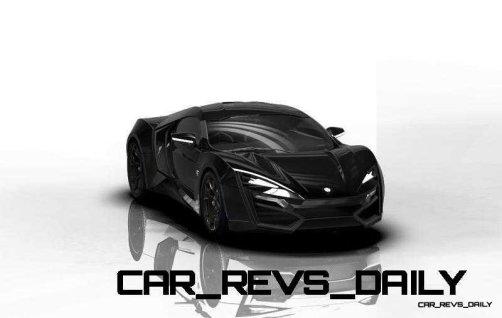 CarRevsDaily Supercars - 2014 W Motors Lykan Hypersport Colors 17