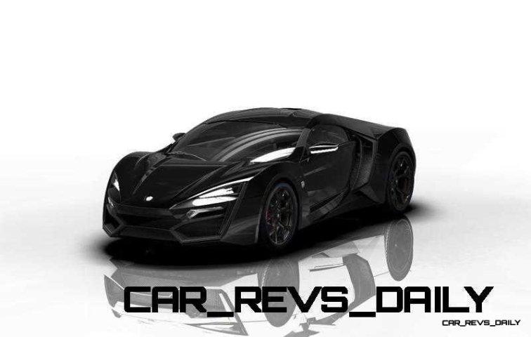 CarRevsDaily Supercars - 2014 W Motors Lykan Hypersport Colors 22